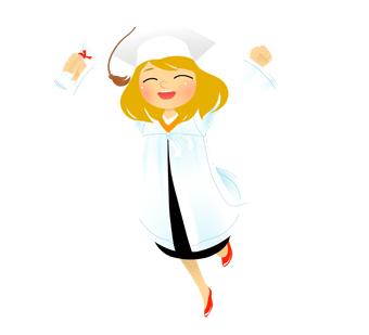 Graduation clipart happy graduation Clip Girl clip art art