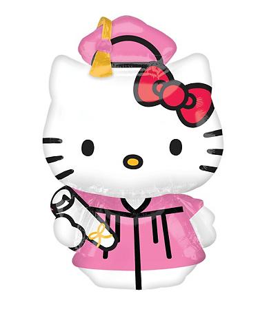 Graduation clipart hello kitty Free Free Balloons LIMITED: Clip