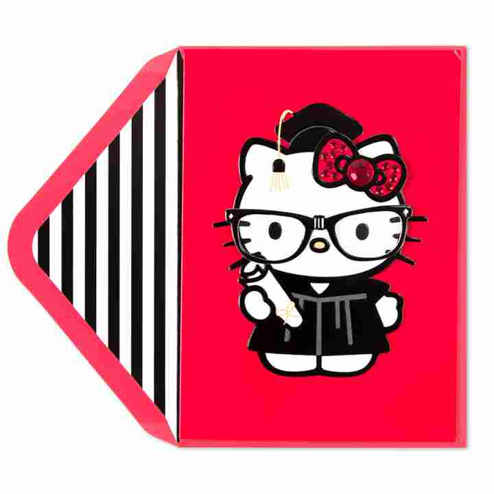 Graduation clipart hello kitty View of card Hello Kitty