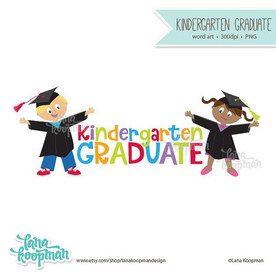 Graduation clipart retro Clipart Kindergarten Lana Graduation Kindergarten