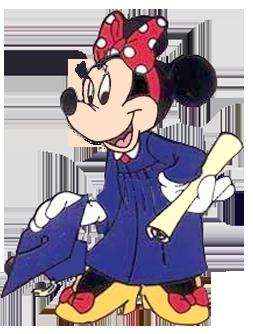 Graduation clipart minnie mouse Minnie School Mouse Minnie