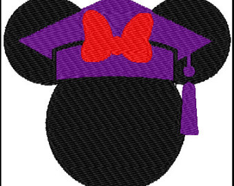Graduation clipart minnie mouse Mouse Minnie Design Embroidery Minnie