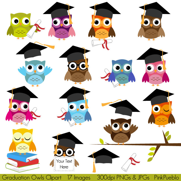 Graduation clipart owl School #59120:  Education Clipart