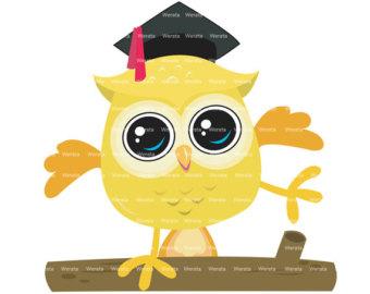 Graduation clipart owl  Werata graduation by Graduation