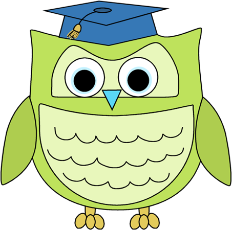Graduation clipart owl Green Image Graduation Art Owl