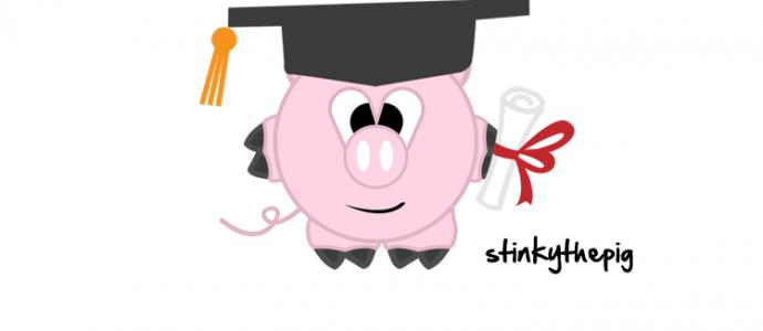 Graduation clipart pig Graduate » the Pig The