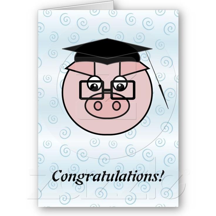 Graduation clipart pig Card Pig images best Pinterest