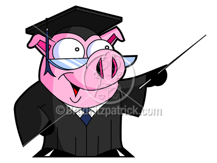 Graduation clipart pig Teaching Pig Pig Clipart a