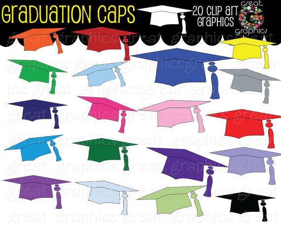 Graduation clipart printable Clipart Art Cap Il_570xn Graduation