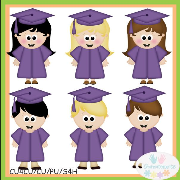 Graduation clipart purple #5