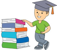 Graduation clipart school book Book School for Graphics in