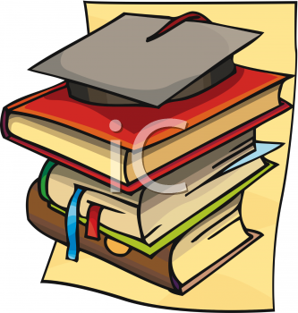 Graduation clipart school book Of Books Of Of Picture
