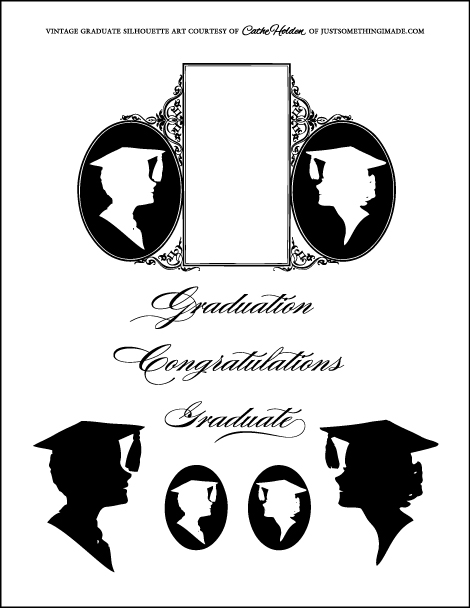 Graduation clipart shadow #9