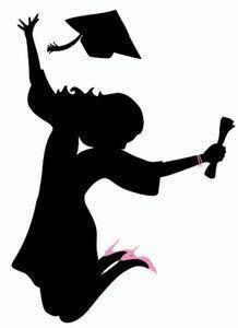 Graduation clipart shadow #14