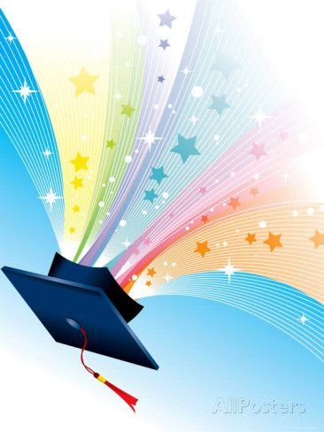 Graduation clipart stars Clipart Pinterest Cap ideas Sparkling