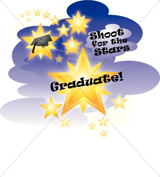 Graduation clipart stars Clipart for and Shoot the