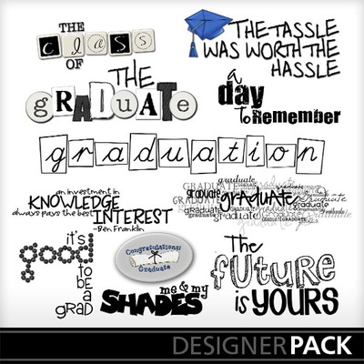 Graduation clipart the word Graduation_word_art Clip Word PrintMaster Art