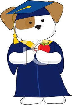 Graduation clipart tiger A cute Puppy of of