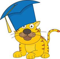 Graduation clipart tiger Clipart a Cute Search cap