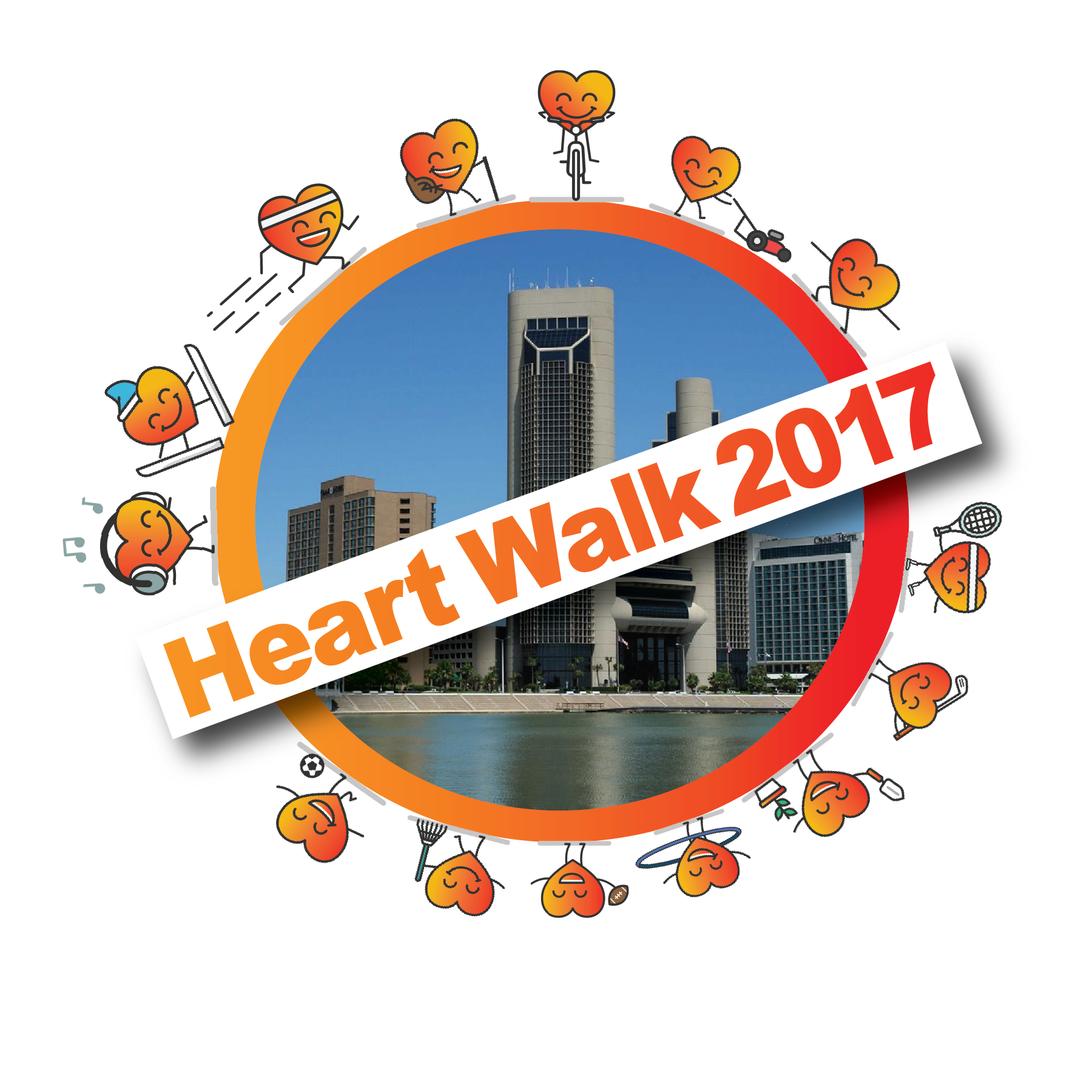 Graduation clipart walk 8:00AM 7 Oct 2017 Heart