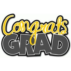Graduation clipart you did it Silhouette > Congratulations  Graduate
