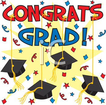 Graduation clipart you did it Find Free Clipart Graduation Background