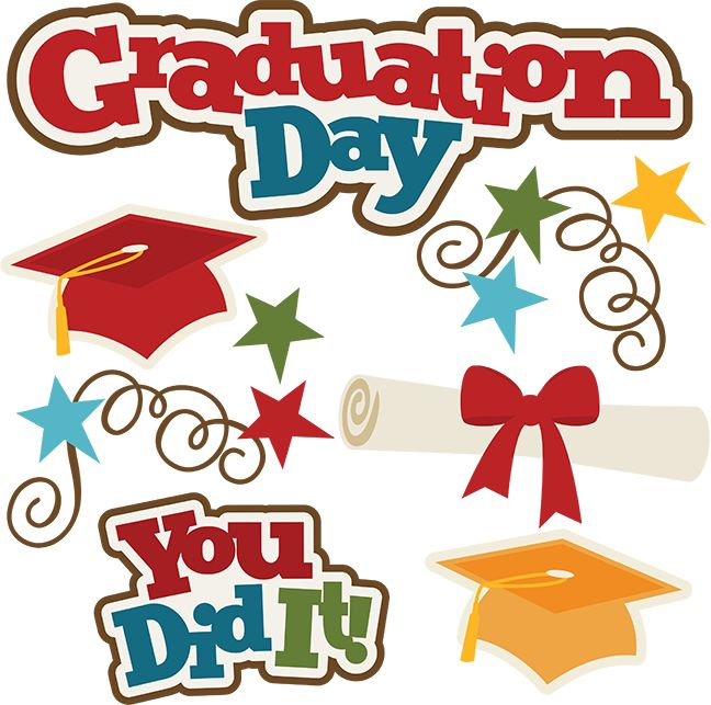 Graduation clipart you did it Graduation cut file best Graduation