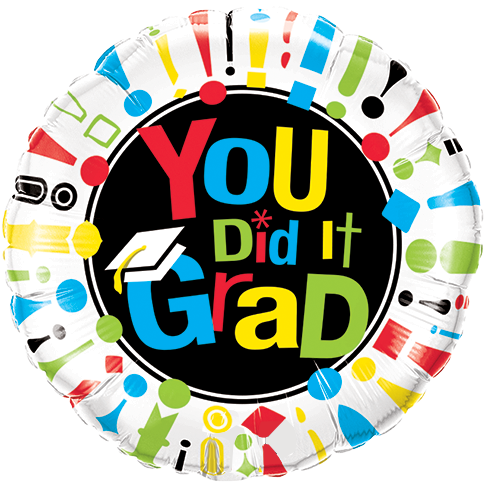 Graduation clipart you did it 18