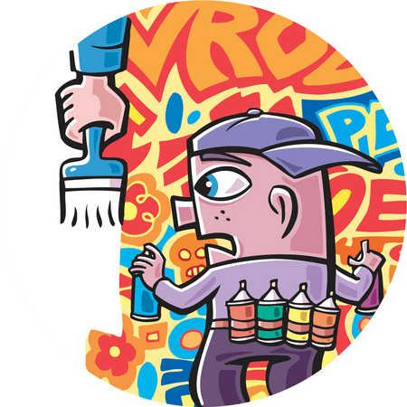 Graffiti clipart Graffiti Artist Clipart Log clip clip artist ClipartBarn