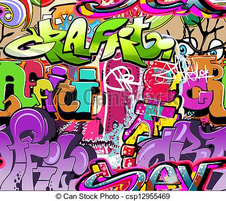 Graffiti clipart Graffiti Artist Clipart Vector background Urban texture Vector