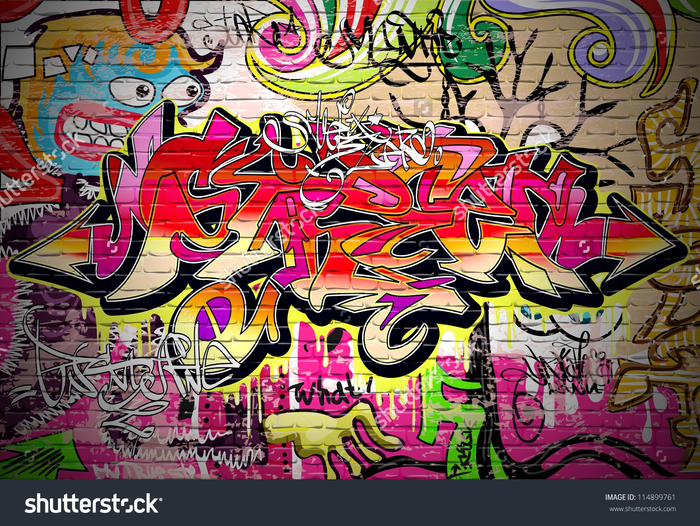 Graffiti clipart Graffiti Brick Wall Clipart Gallery : Brick Graffiti Design