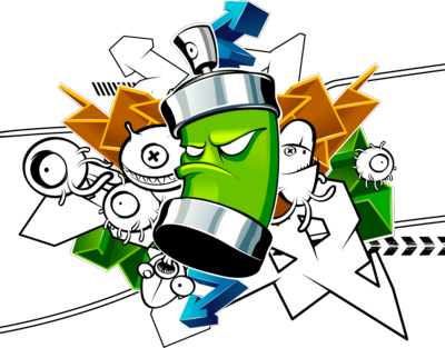 Graffiti clipart Graffiti Spray Can Clipart Related spray  drawings graffiti