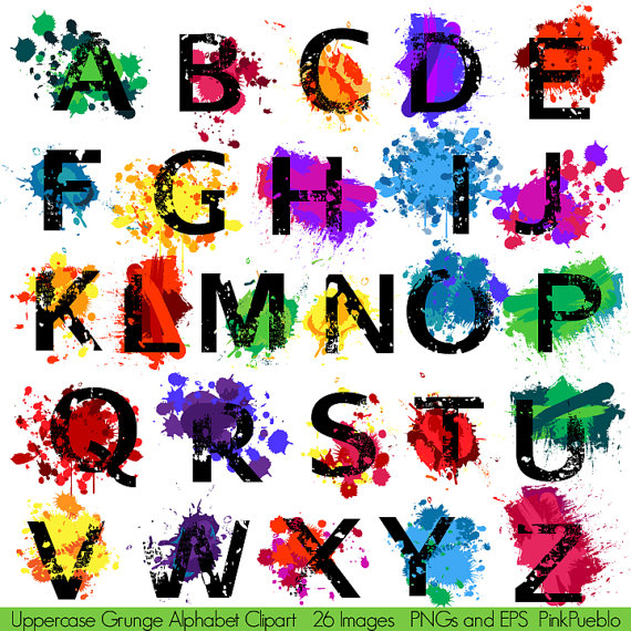 Graffiti clipart Graffiti Words Clipart Our vector and Letters Illustrator