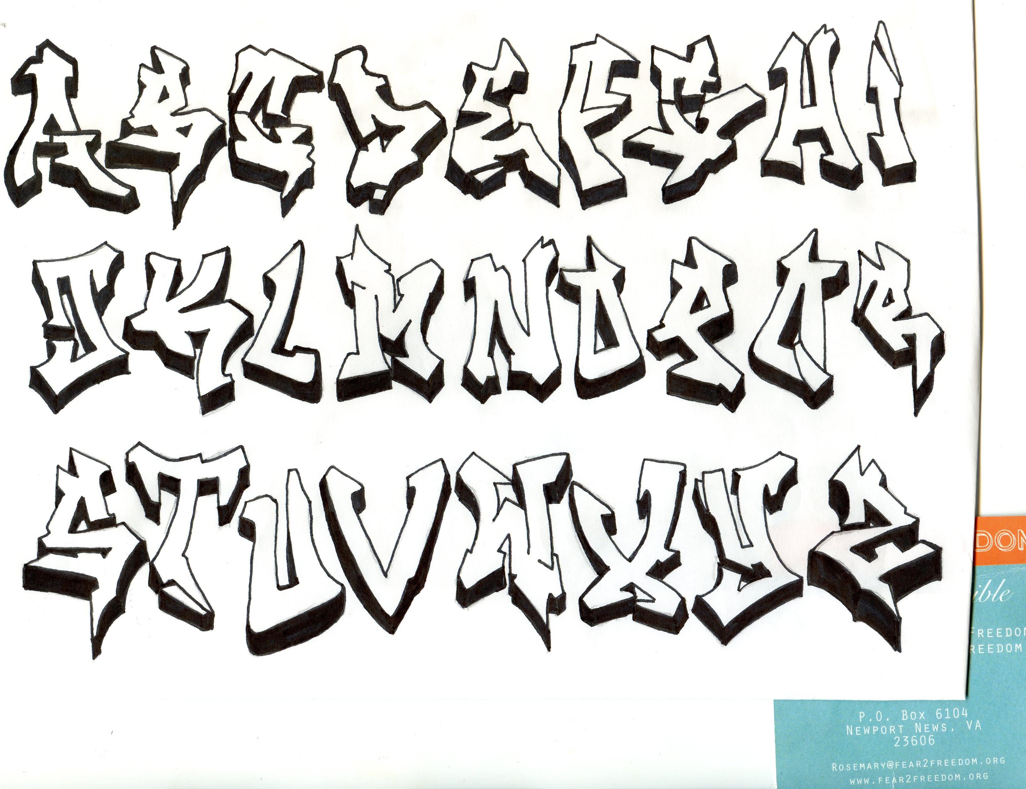 Graffiti Clipart Letters Duwua Pinterest Graffiti By Alphabet