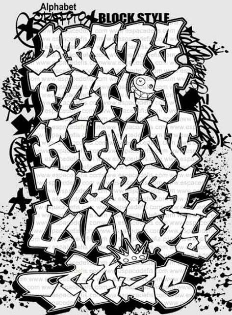Graffiti Clipart Letters  Graffiti Graffiti font Clipart