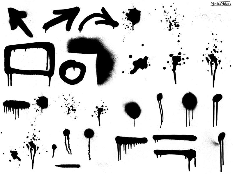 Graffiti clipart Spray Paint Drip Clipart  Art Clip Free Cartoon
