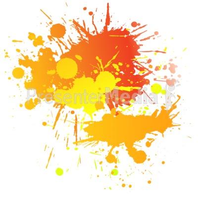 Painting clipart paint splatter Presentation Clipart Complimentary Graffiti Text