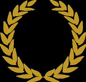 Wreath clipart gold leaf Logo Wheat logo clipart clipart