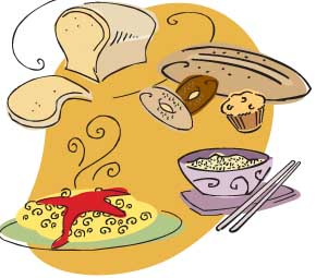 Grain clipart source carbohydrate Group grains Rice Pasta Cereal