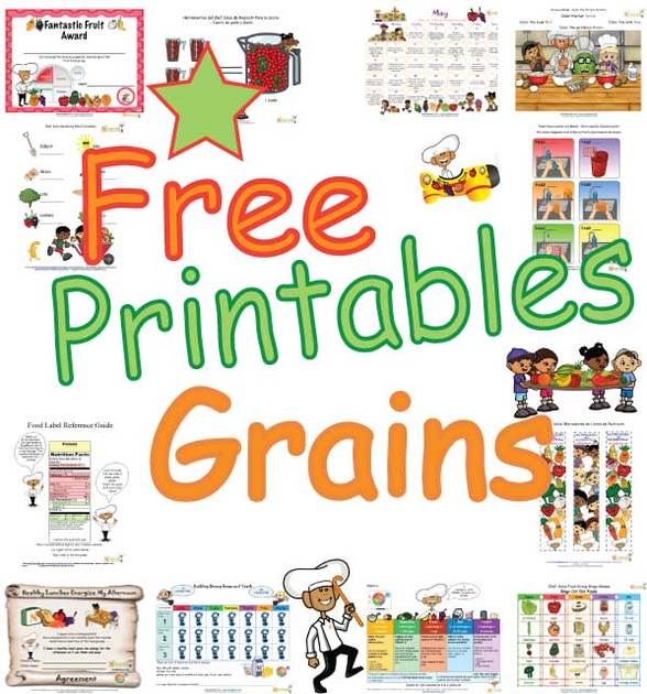 Grains clipart for kid Wheat Healthy and Grain Foods