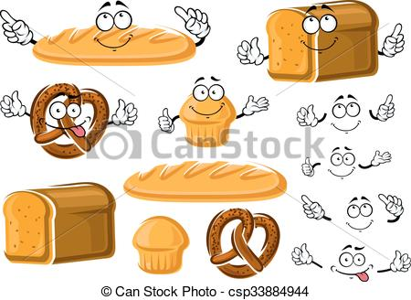 Grain clipart baking bread Whole Fresh baked and cupcake