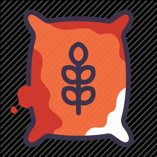 Grains clipart grain bag Bag icon Icon food food