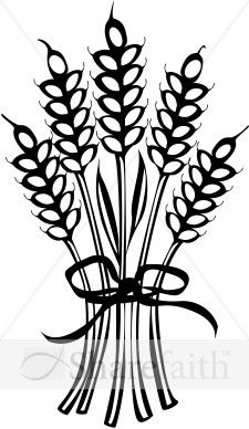 Straw clipart wheat bundle Clipart Art Wheat Clip Bundles