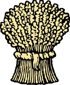 Grain clipart sheaf wheat #1