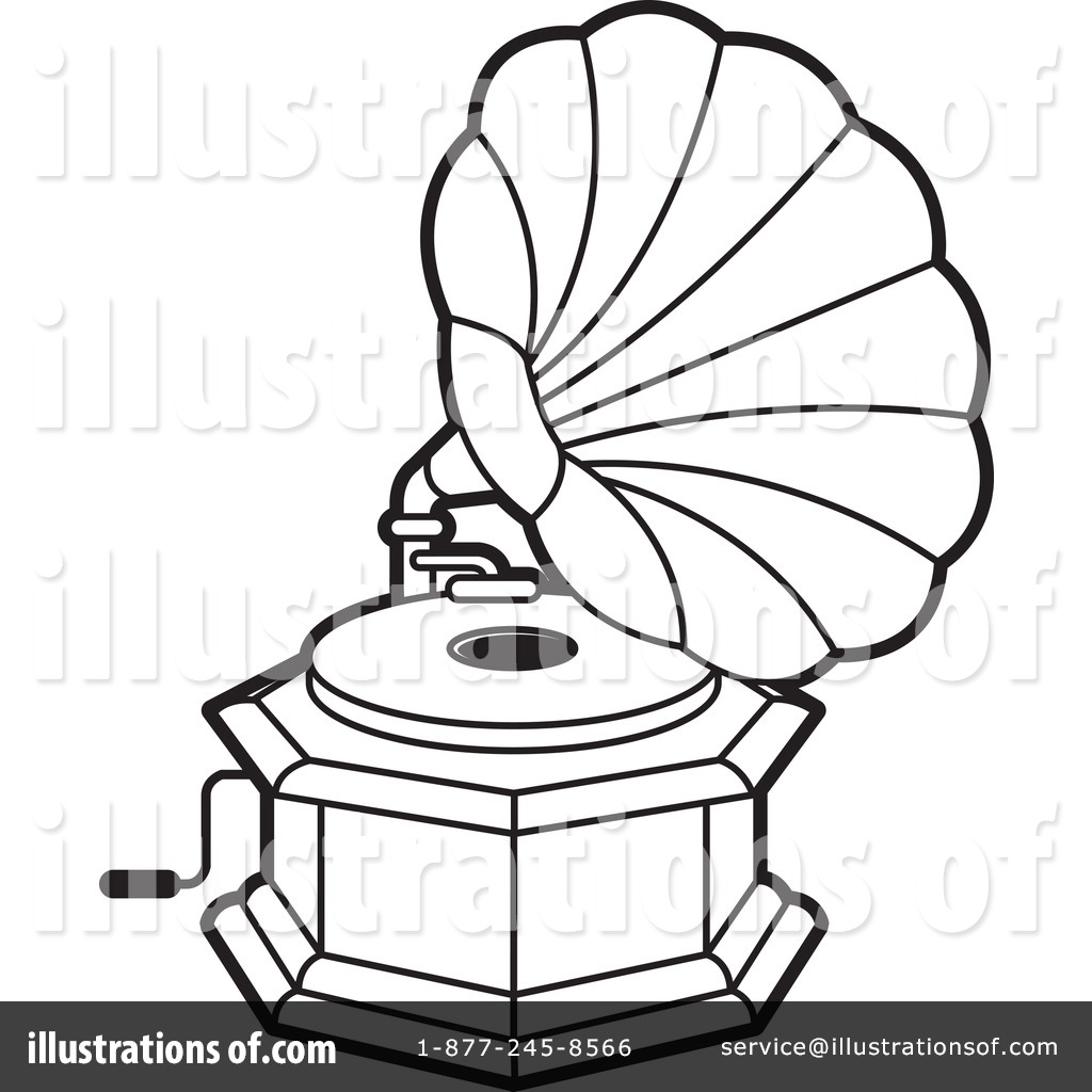 Gramophone clipart cartoon Lal #1244219 by Gramophone Illustration
