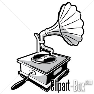 Gramophone clipart vintage music Motif Search invite Google best