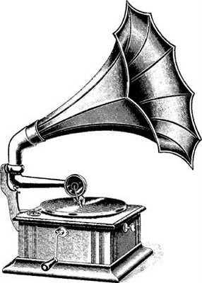 Gramophone clipart invention  on Love about Pinterest