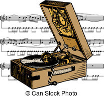 Gramophone clipart melody Gramophone melody Gramophone; gramophone; and