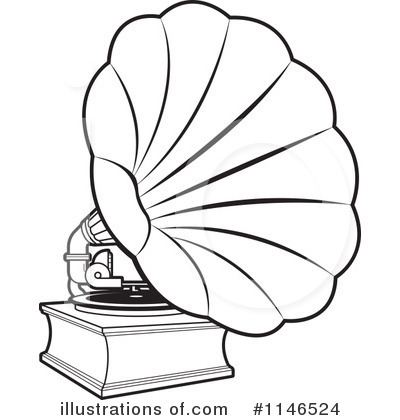 Gramophone clipart vintage (RF) Clipart by Free Perera