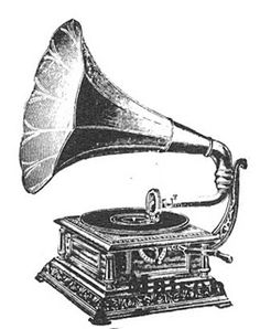 Gramophone clipart victorian Gramophone phonograph Cool a cool